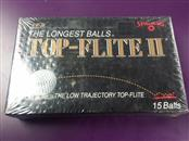 *NEW* Vintage Golf Balls Spalding Top Flite II - Box of 15